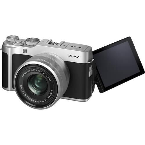 Fujifilm X-A7 Mirrorless Digital Camera Kit 15-45mm Lens 2