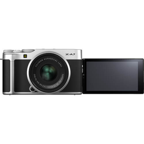 Fujifilm X-A7 Mirrorless Digital Camera Kit 15-45mm Lens 3