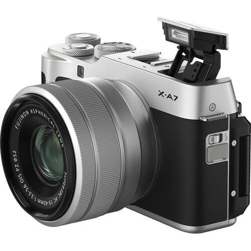 Fujifilm X-A7 Mirrorless Digital Camera Kit 15-45mm Lens 4