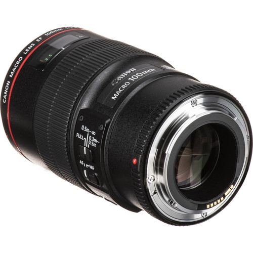 Canon EF 100mm f28L Macro IS USM Lens 4