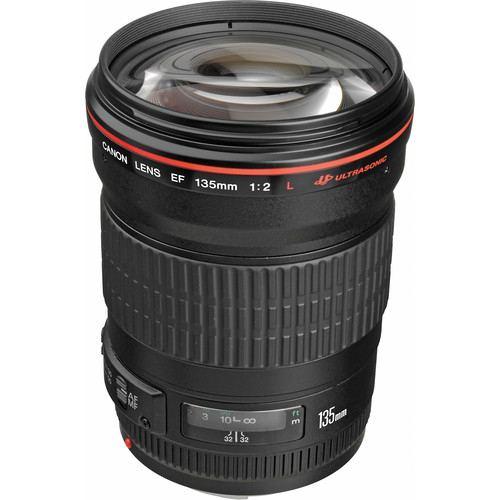 Canon EF 135mm f2L USM Lens 1