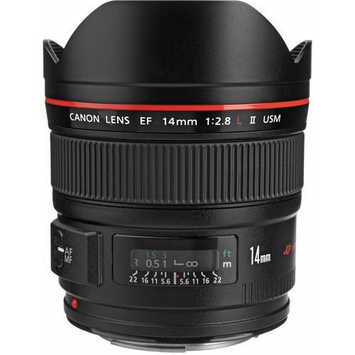Canon EF 14mm f28L II USM Lens 2