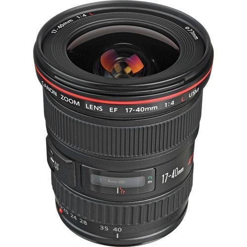 Canon EF 17 40mm f4L USM Lens 1