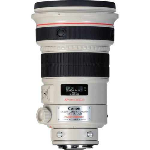 Canon EF 200mm f2L IS USM Lens 1