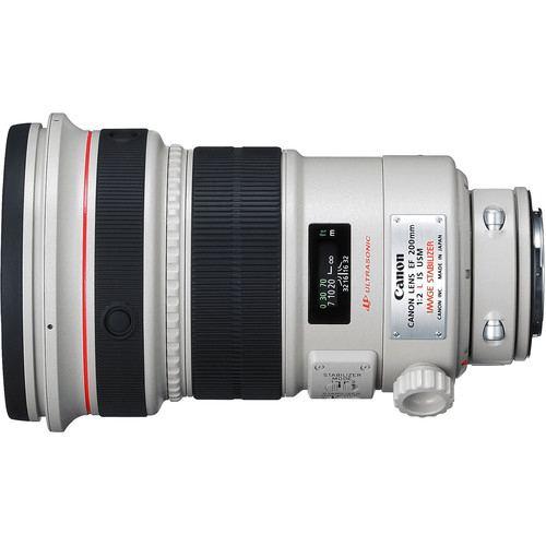 Canon EF 200mm f2L IS USM Lens 2