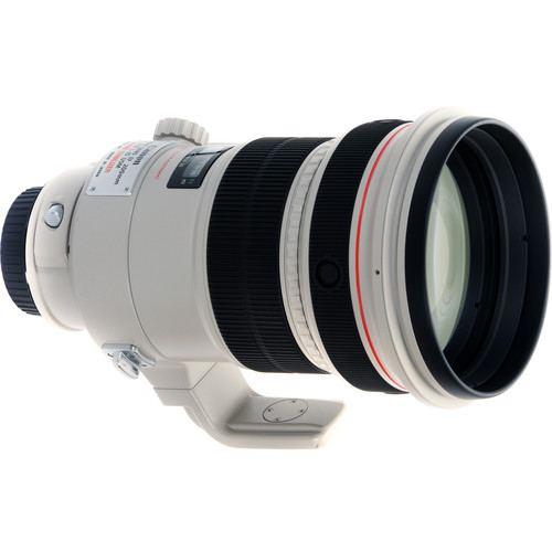 Canon EF 200mm f2L IS USM Lens 3