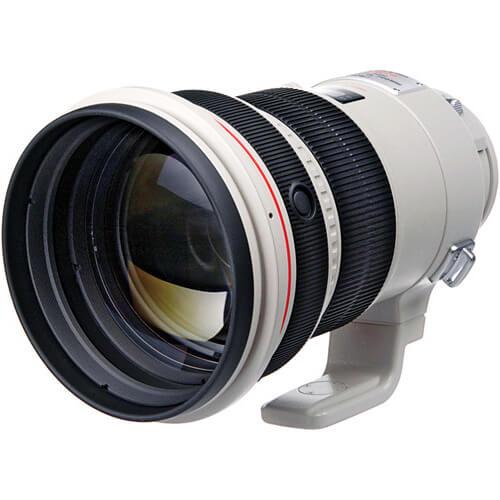 Canon EF 200mm f2L IS USM Lens 6