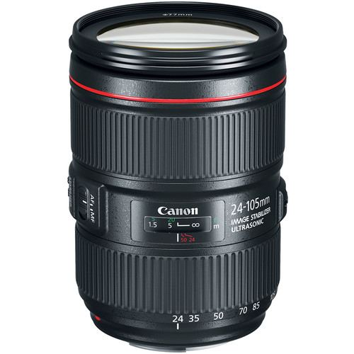Canon EF 24 105mm f4L IS II USM Lens 1