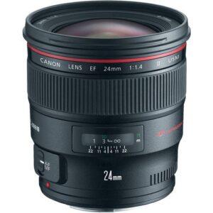 Canon EF 24mm f14L II USM Lens 1