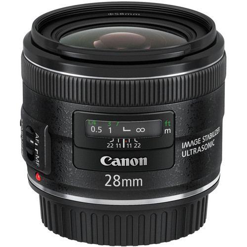 Canon EF 28mm f28 IS USM Lens 1