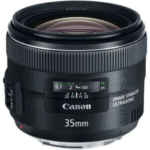 Canon EF 35mm f2 IS USM Lens 1