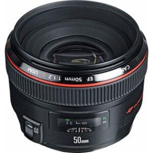 Canon EF 50mm f12L USM Lens 1
