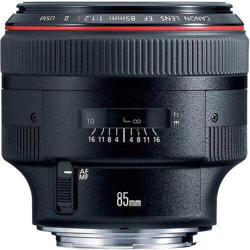 Canon EF 85mm f12L II USM Lens 2