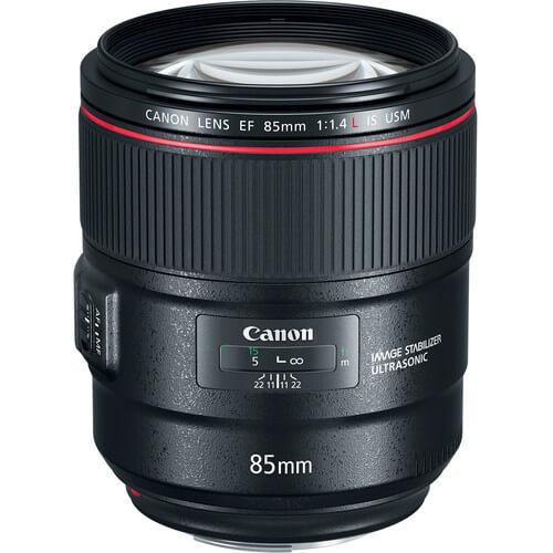Canon EF 85mm f14L IS USM Lens 1