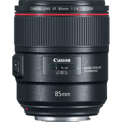 Canon EF 85mm f14L IS USM Lens 2