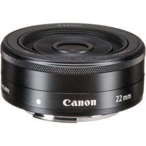 Canon EF M 22mm f2 STM Black 1