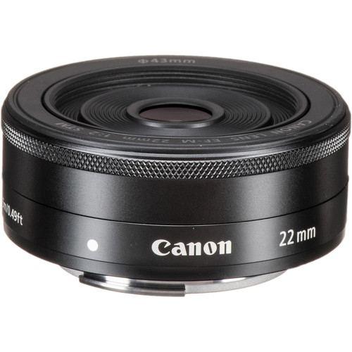Canon EF M 22mm f2 STM Black 1