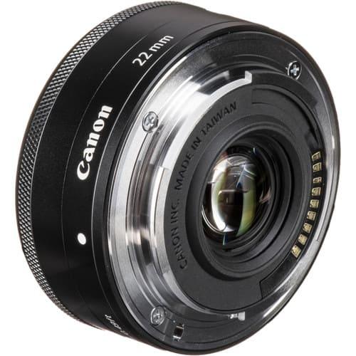 Canon EF M 22mm f2 STM Black 6