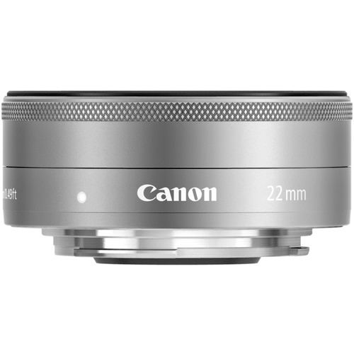Canon EF M 22mm f2 STM Silver 2