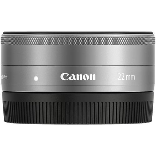 Canon EF M 22mm f2 STM Silver 3