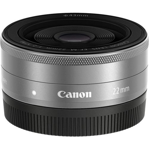 Canon EF M 22mm f2 STM Silver 4