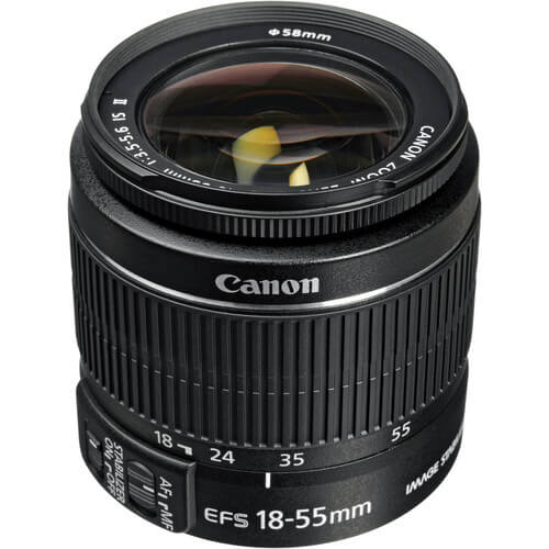 Canon EF S 18 55mm f35 56 IS II Lens 1