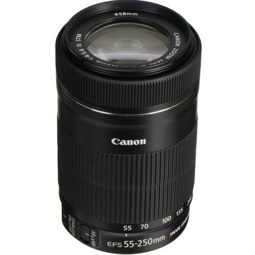 Canon EF S 55 250mm f4 56 IS STM Lens 1