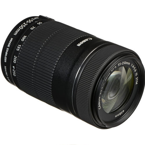 Canon EF S 55 250mm f4 56 IS STM Lens 4