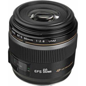 Canon EF S 60mm f28 Macro USM Lens 1