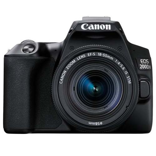 Canon EOS 200D MKII Kit EF S 18 55 IS STM Black 1