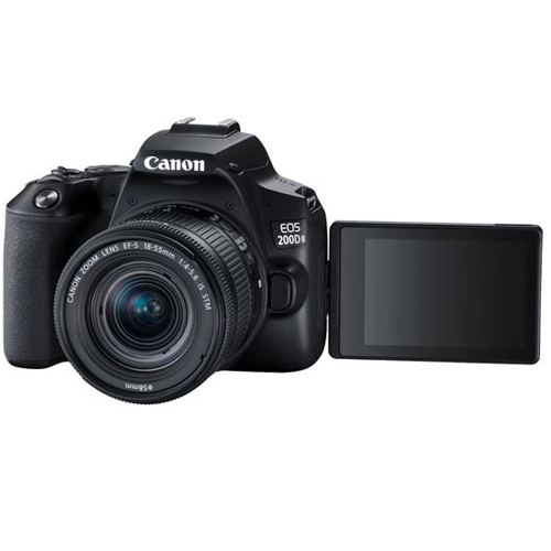 Canon EOS 200D MKII Kit EF S 18 55 IS STM Black 3