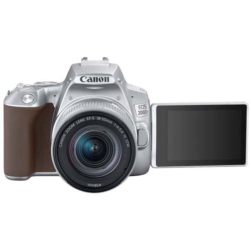Canon EOS 200D MKII Kit EF S 18 55 IS STM Silver 2
