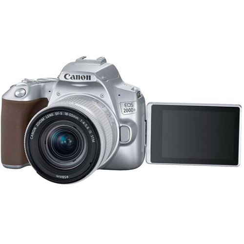 Canon EOS 200D MKII Kit EF S 18 55 IS STM Silver 3