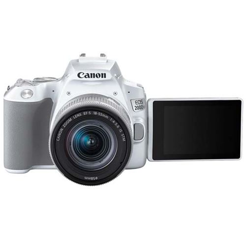 Canon EOS 200D MKII Kit EF S 18 55 IS STM White 2