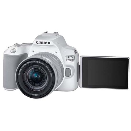 Canon EOS 200D MKII Kit EF S 18 55 IS STM White 3