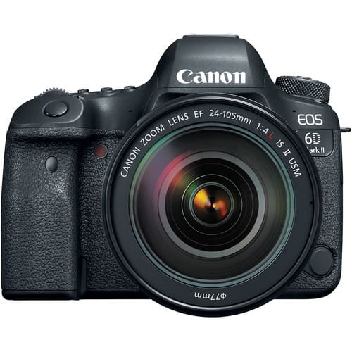 Canon EOS 6D Mark II DSLR Camera Kit24 105mm 3