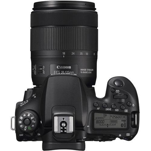 Canon EOS 90D DSLR Camera Kit 18 135mm 4