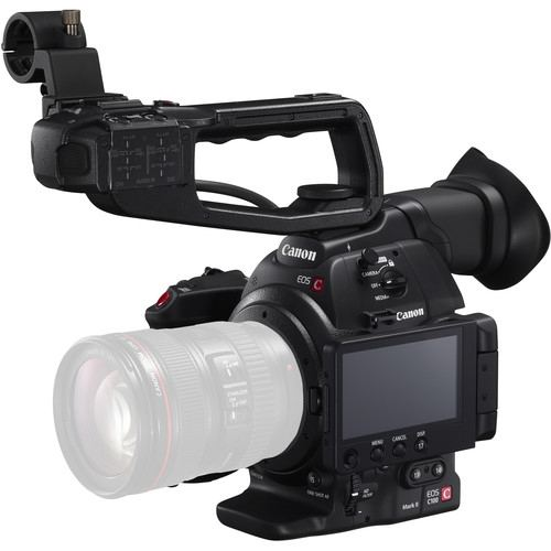 Canon EOS C100 Mark II Cinema EOS Camera with Dual Pixel CMOS AF Body Only 1