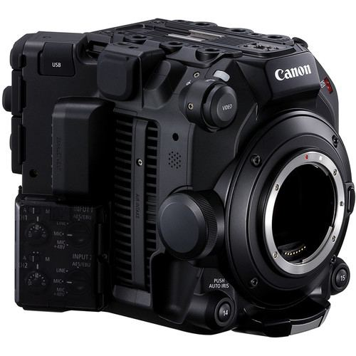 Canon EOS C500 Mark II 59K Full Frame Camera Body EF Mount 4