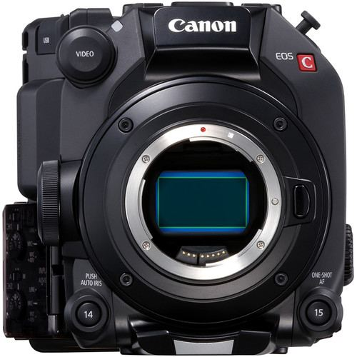 Canon EOS C500 Mark II 59K Full Frame Camera Body EF Mount 5