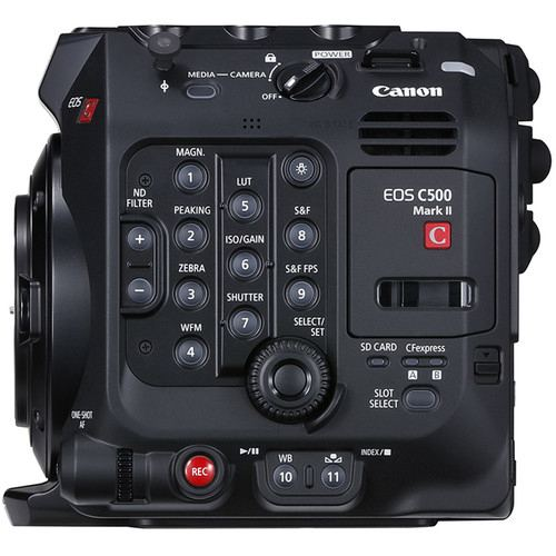 Canon EOS C500 Mark II 59K Full Frame Camera Body EF Mount 7