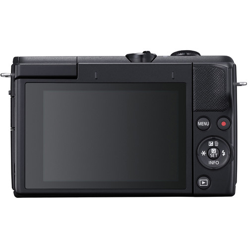 Canon EOS M200 Mirrorless Digital Camera with 15 45mm Black 2