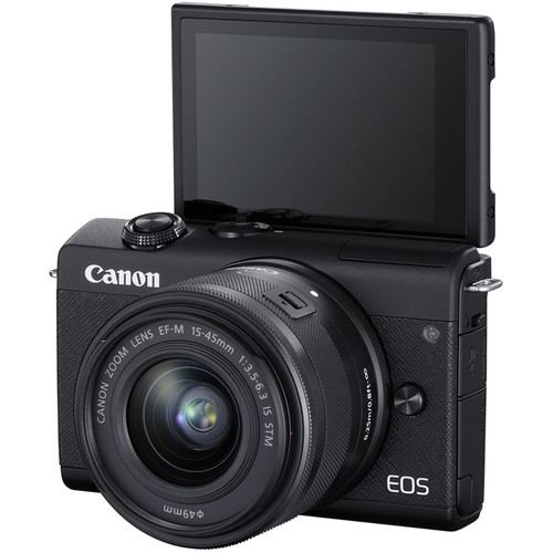 Canon EOS M200 Mirrorless Digital Camera with 15 45mm Black 3
