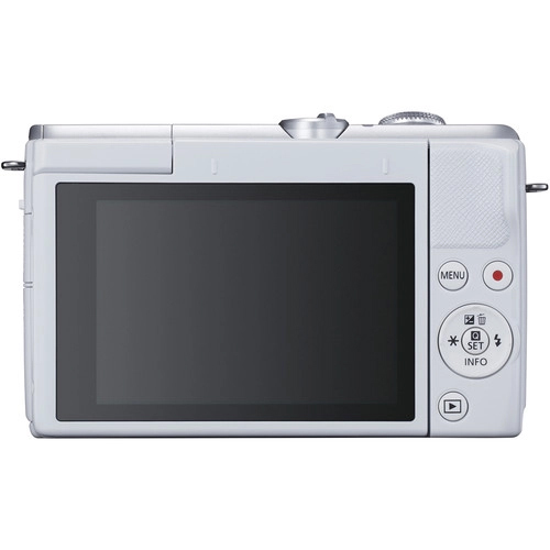 Canon EOS M200 Mirrorless Digital Camera with 15 45mm White 2