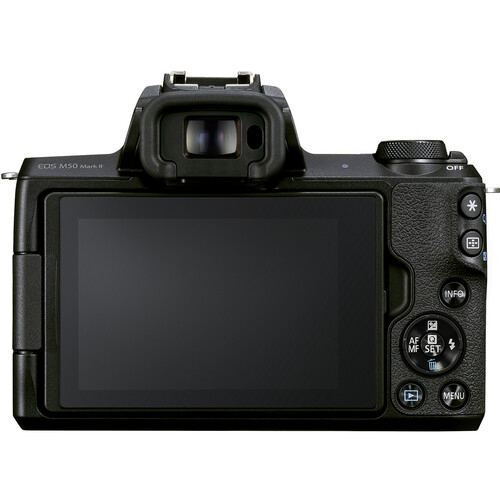 Canon EOS M50 Mark II Mirrorless Body Only Black1