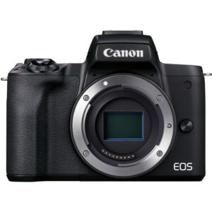 Canon EOS M50 Mark II Mirrorless Body Only Black2