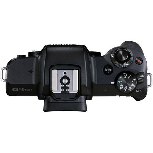 Canon EOS M50 Mark II Mirrorless Body Only Black3