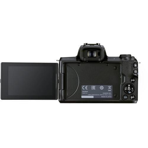 Canon EOS M50 Mark II Mirrorless Body Only Black4