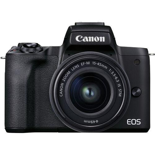Canon EOS M50 Mark II Mirrorless Kit 1545mm Black2