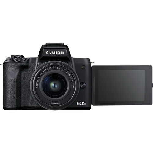Canon EOS M50 Mark II Mirrorless Kit 1545mm Black4